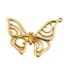 Bronze Pendant Open Butterfly 25x26mm